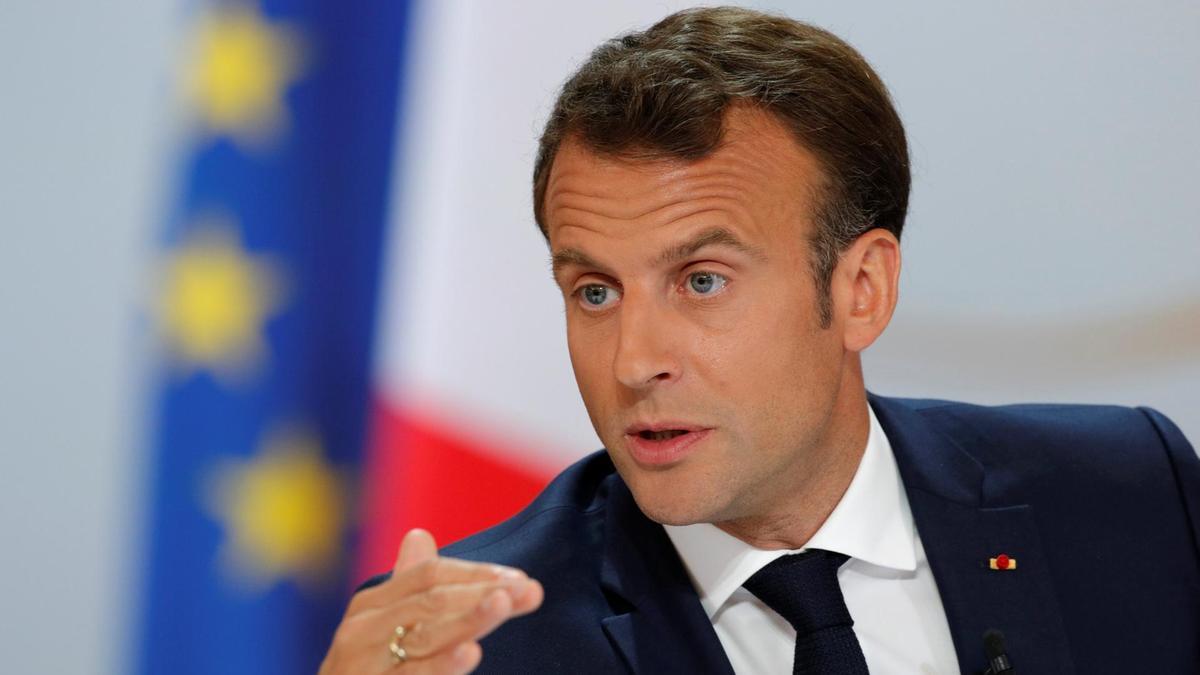 Presidente de Francia anuncia levantamiento de la cuarentena