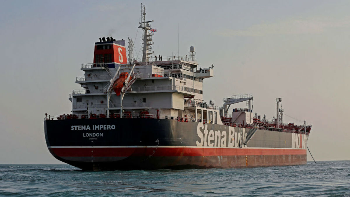Irán anuncia la liberación de 7 tripulantes del petrolero Stena Impero