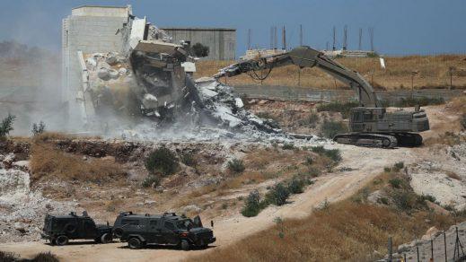 UE insta a Israel a detener las demoliciones en los territorios palestinos