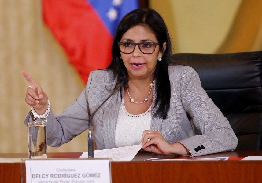 Vicepresidenta de Venezuela: Vamos a Nueva York a llevar la verdad