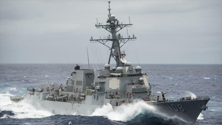 Destructor de EE. UU. con misiles incursionó en aguas territoriales chinas