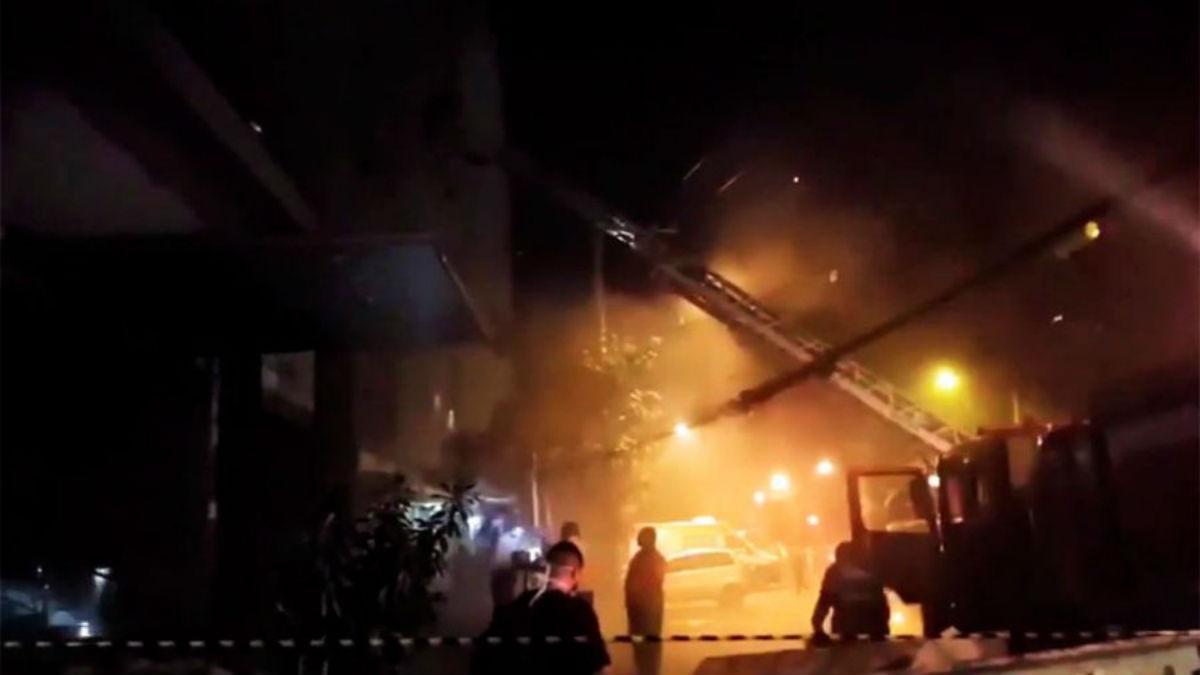 Conmoción en Brasil: al menos 11 muertos tras incendio en un hospital de Río de Janeiro
