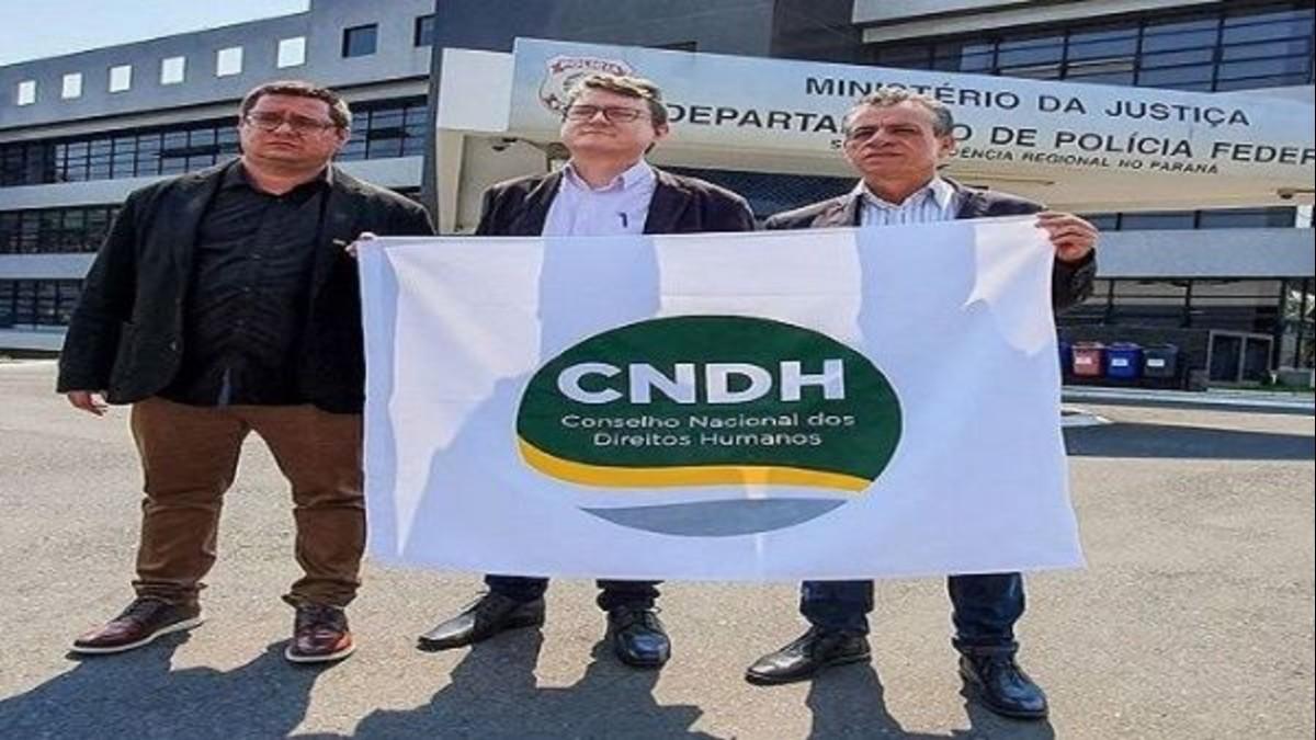 Consejo Nacional de DD.HH. se reunió con Lula da Silva y quedó en presentar informe sobre su situación