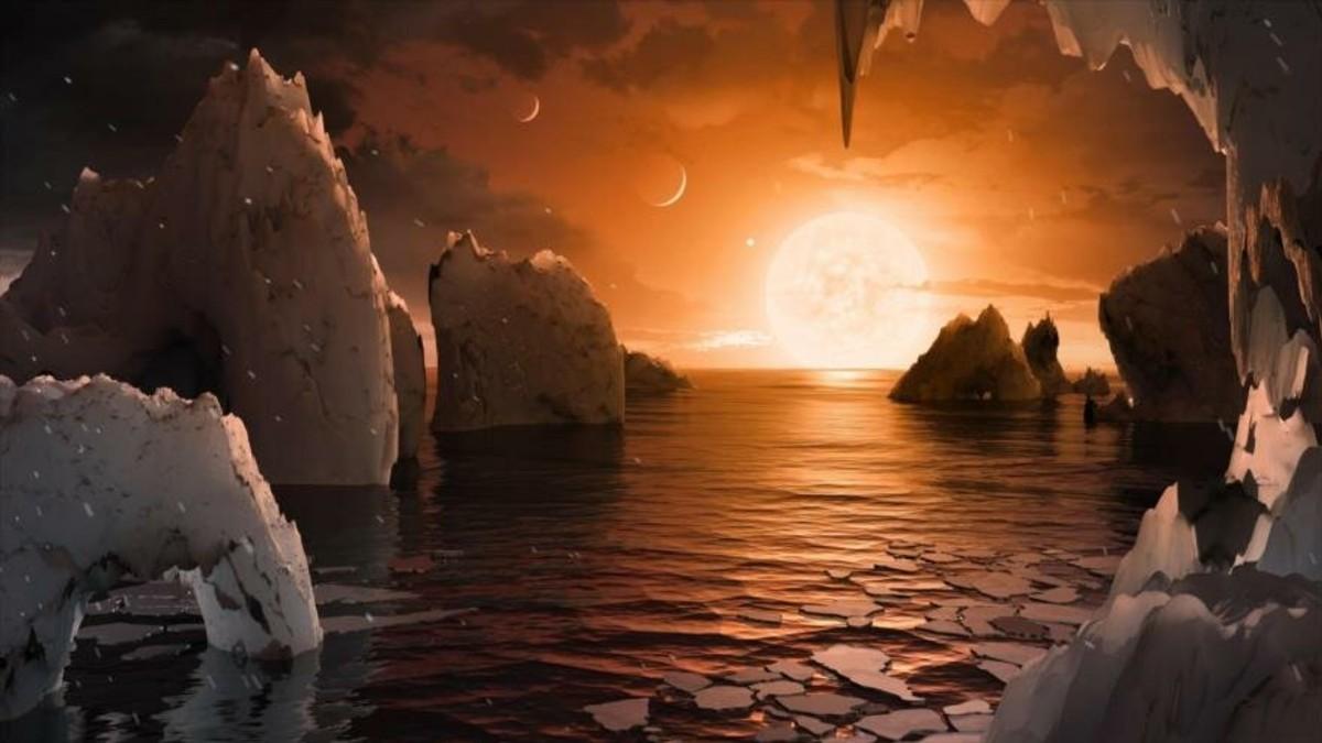 Científicos descubren agua en un exoplaneta posiblemente habitable