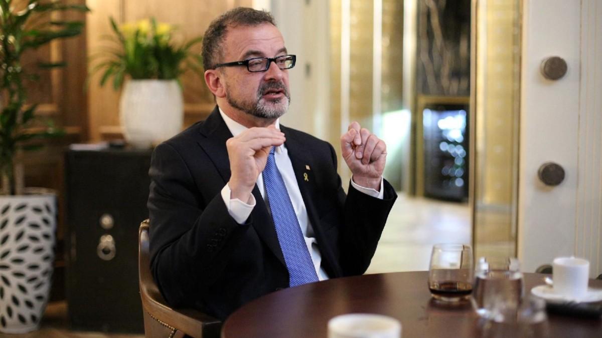 Consejero catalán de Exteriores: «Nuestro horizonte es claro: queremos una salida democrática»