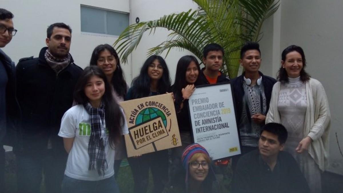 Movimiento 'Viernes por el Futuro' de Perú exhorta a mandatarios del mundo a tomar acciones contundentes ante el calentamiento global