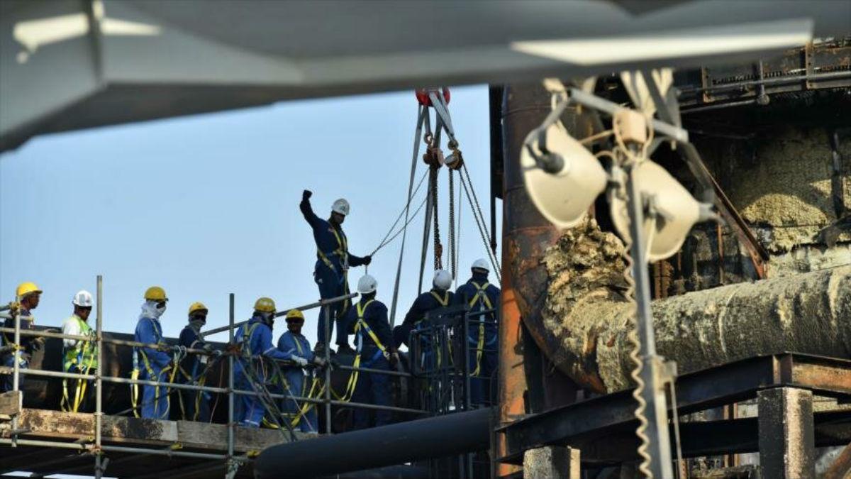 Restaurar la producción de crudo de Aramco tardará meses