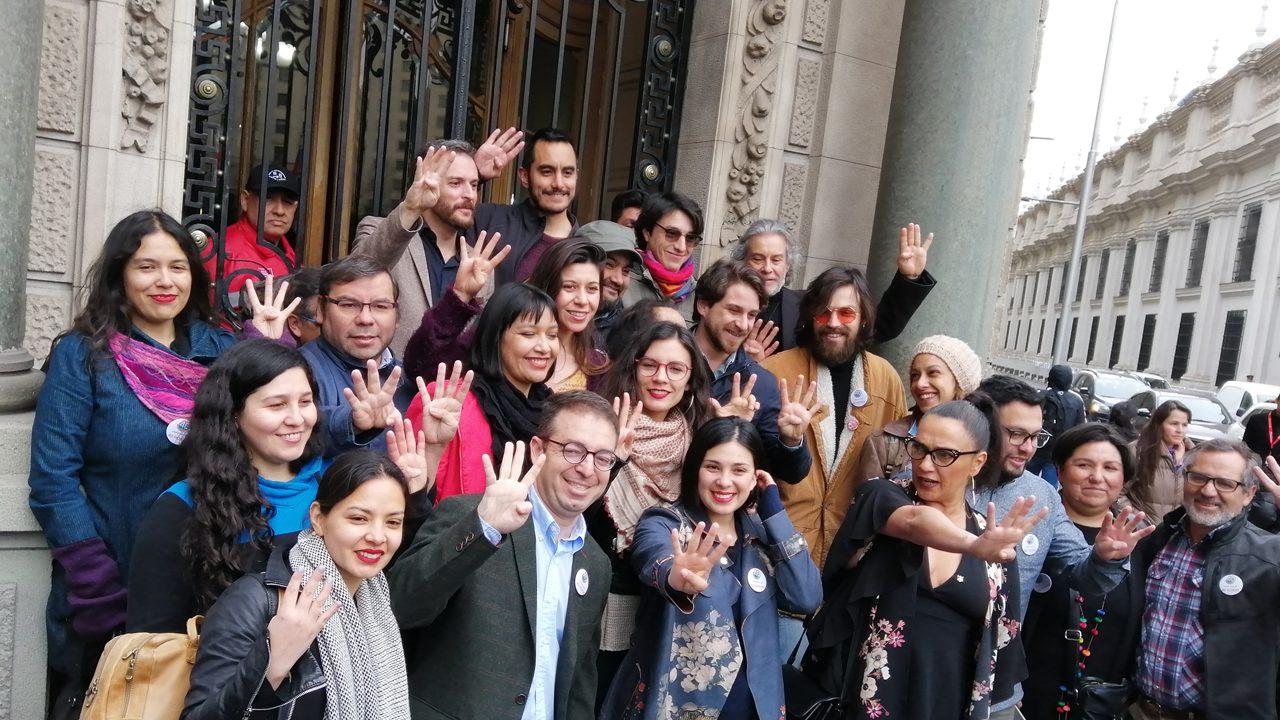 «Festival por las 40 horas»: Parlamentarios, organizaciones sociales y artistas reingresan solicitud de permiso para evento