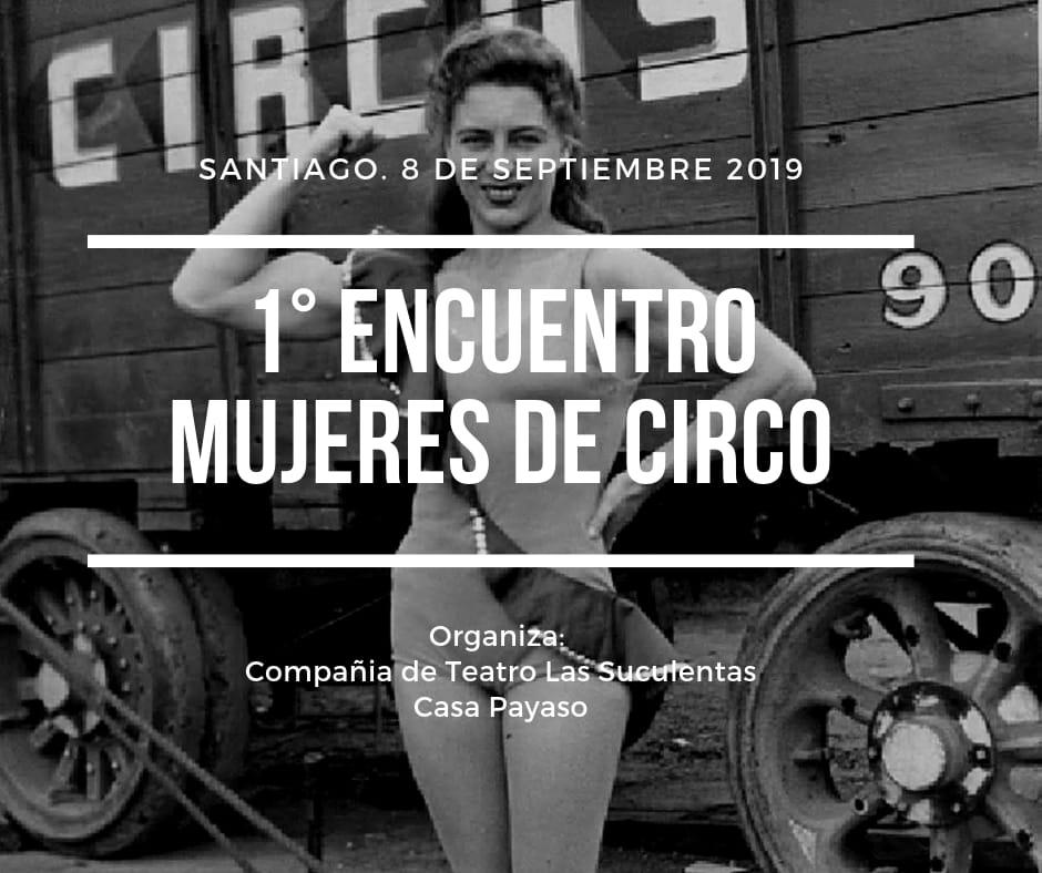 Primer Encuentro de Mujeres de Circo: ¡Todas a la pista!