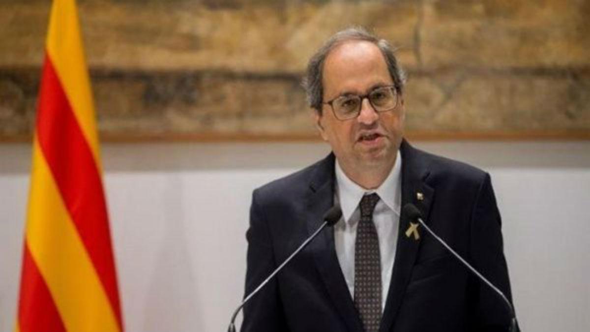 Quim Torra exige mediación internacional en el diálogo con España