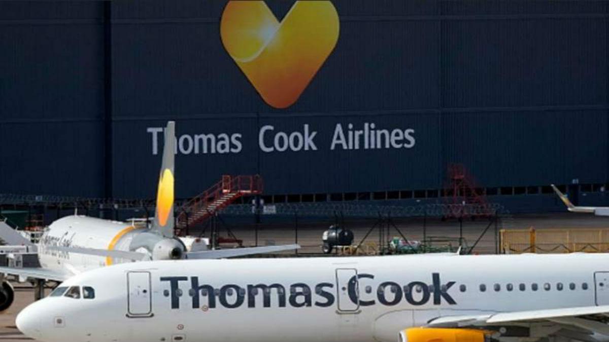 Tres filiales de la compañía turística Thomas Cook se declaran en quiebra