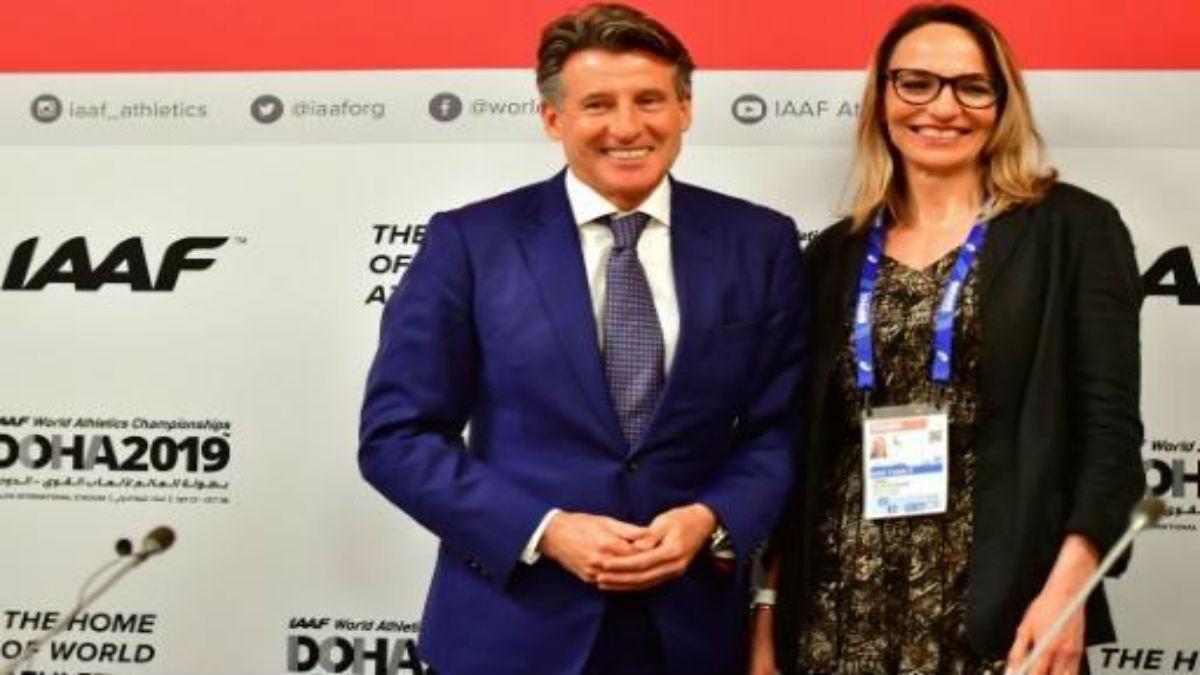 Exatleta colombiana Restrepo se convierte en la primera mujer vicepresidenta de la IAAF