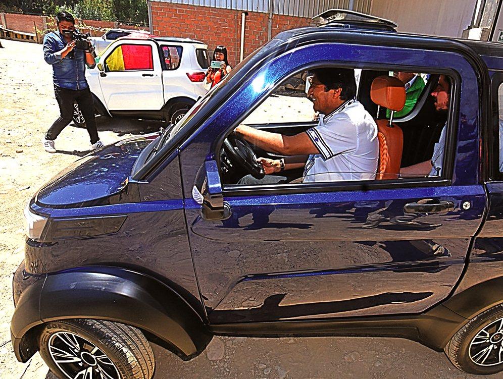 Conoce a Quantum, el primer auto eléctrico 100 % boliviano