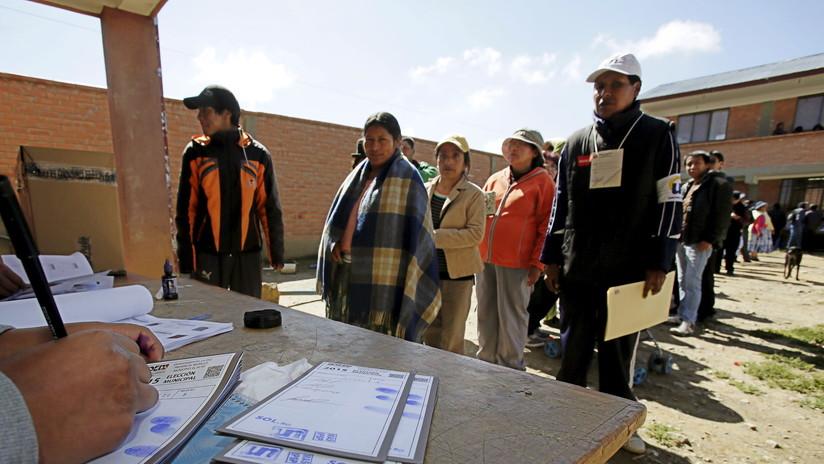 Inician comicios generales en Bolivia con total normalidad