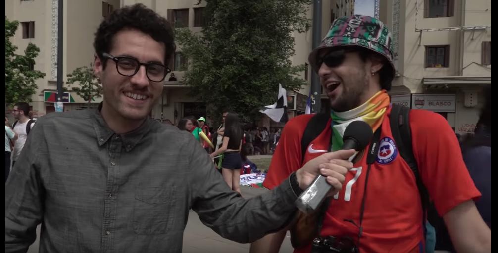 Frente Fracasados registra la marcha más grande del país y dedica capítulo a víctimas del aparato estatal chileno