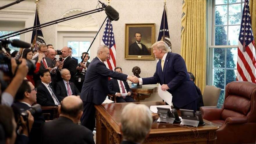 """EE. UU. baja el tono a sus exigencias comerciales frente a China y anuncia un """"acuerdo sustancial"""""""