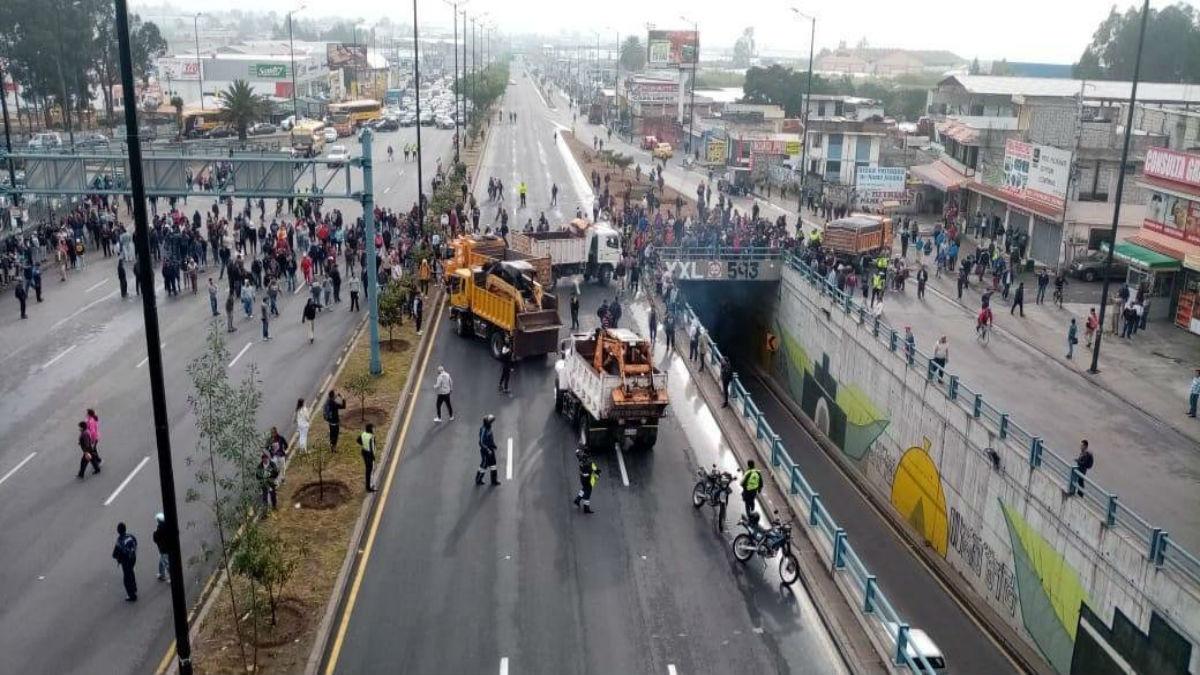 Ecuador paralizado por aumento de hasta 123 % en combustibles