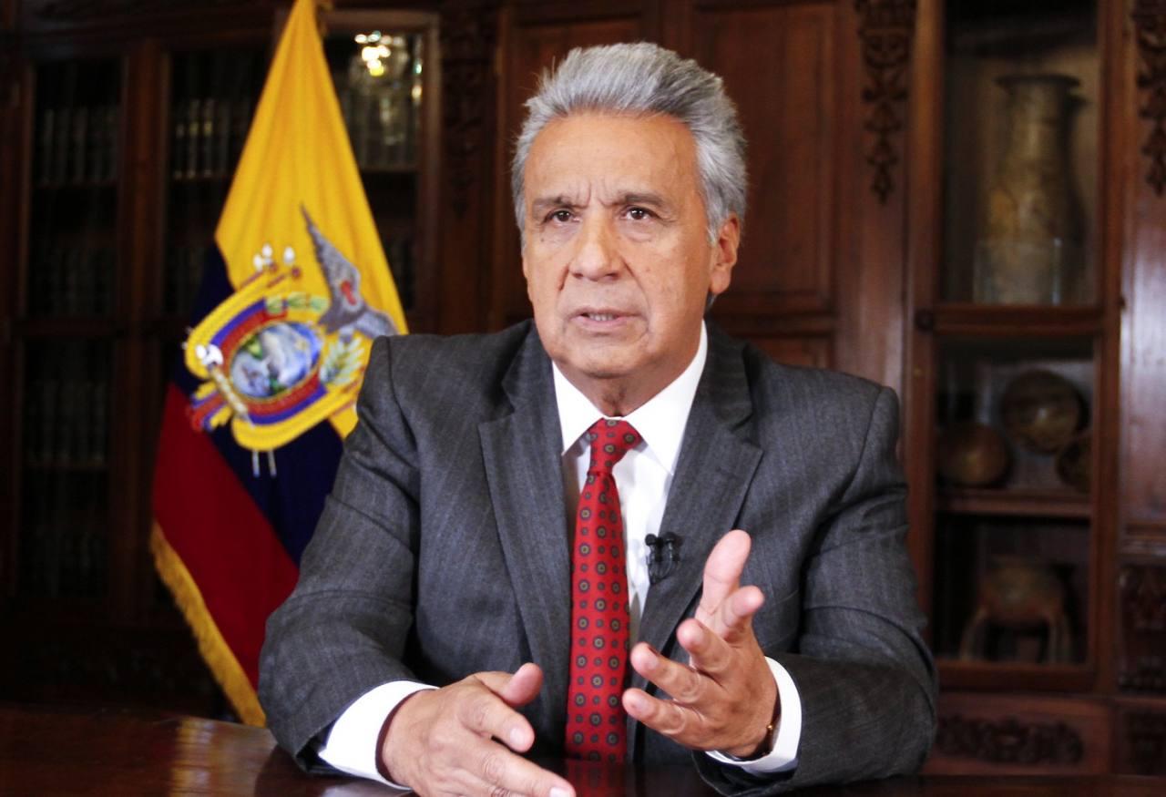 Lenín Moreno culmina su mandato con más de 90% de desaprobación