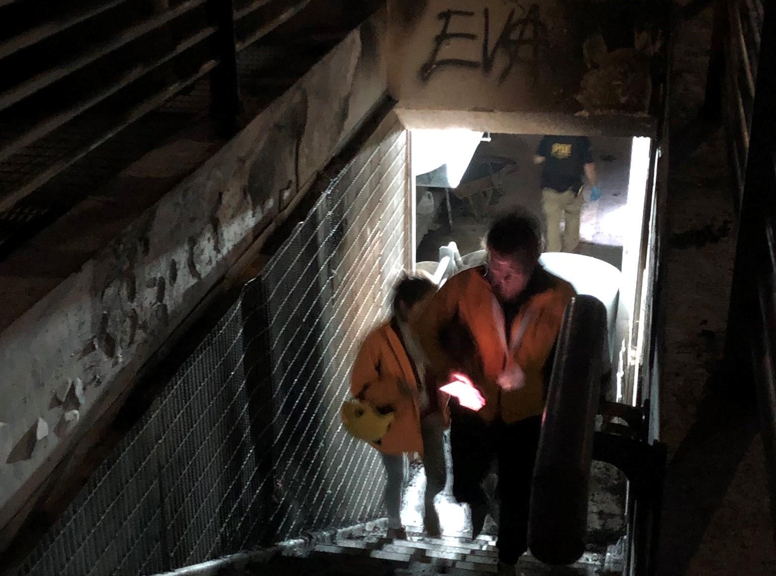 Denuncia por torturas en Metro Baquedano: Juez de Garantía e INDH concurrieron a estación