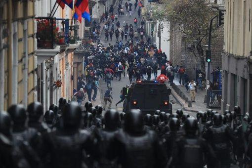 Represión y criminalización de las protestas: La nueva traición de Moreno al pueblo de Ecuador