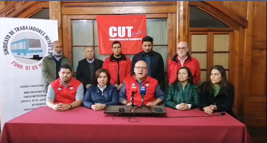 «Es una demanda legítima»: Trabajadores del Metro respaldan protestas de los estudiantes