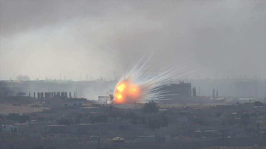 Investigan posible uso de fósforo blanco en operación militar turca en Siria