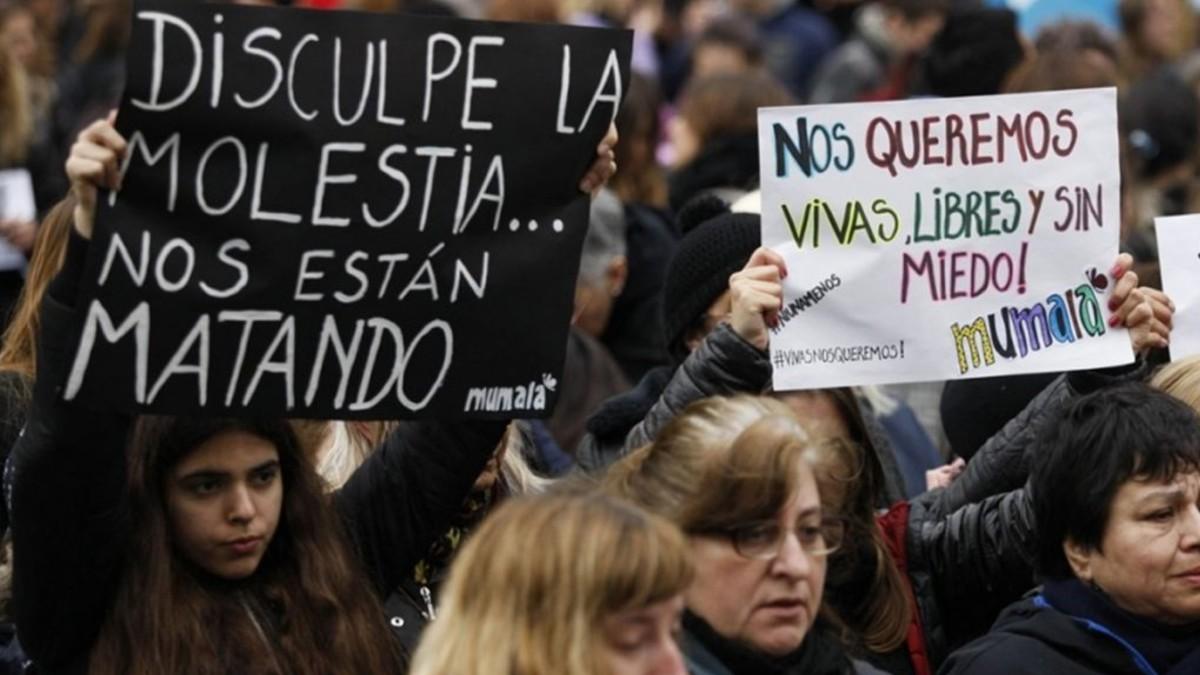 Han ocurrido al menos unos 203 femicidios durante el 2019 en Argentina
