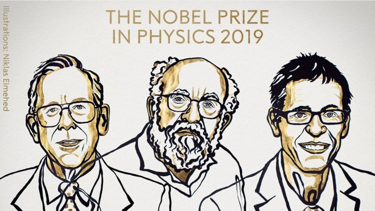 Premio Nobel de Física a tres científicos por su aporte en el entendimiento de la evolución del universo