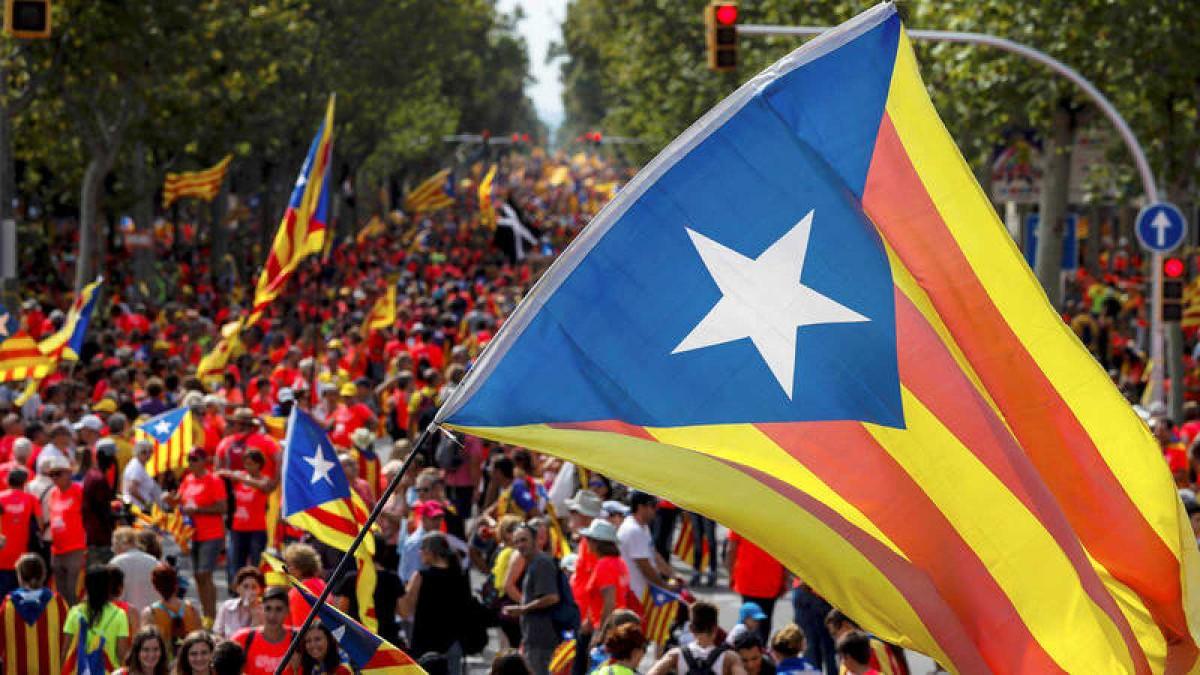 Independentistas convocan movilizaciones durante el clásico del fútbol español