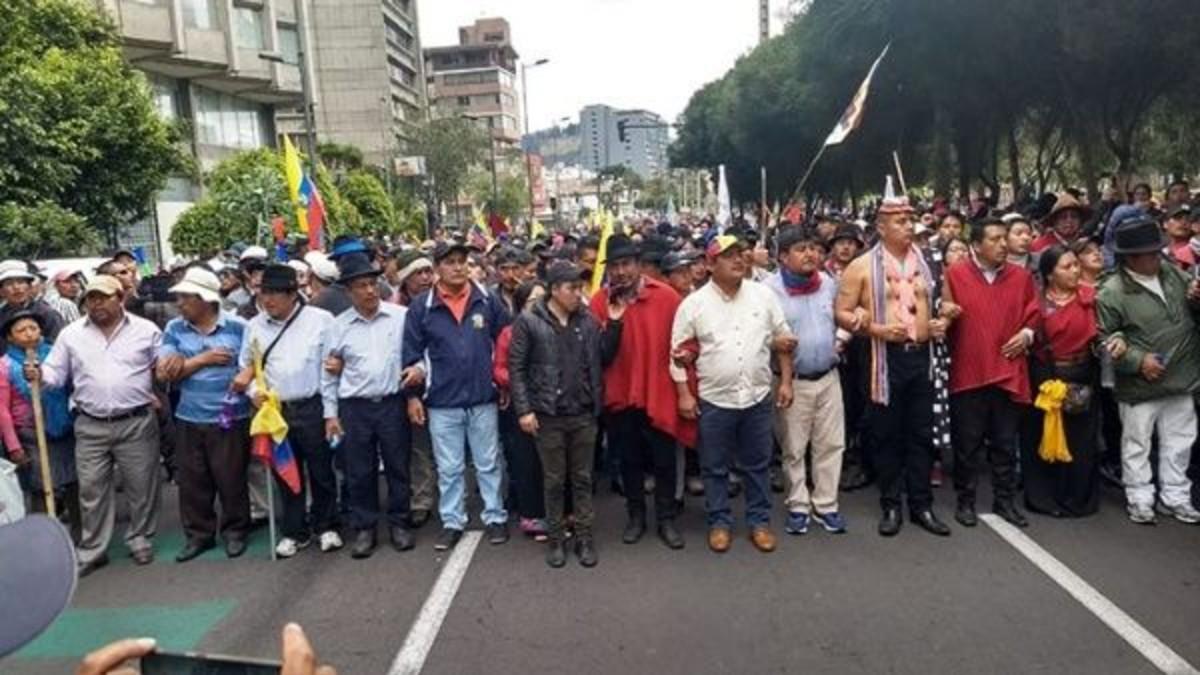 Organización indígena niega haber dialogado con vicepresidente ecuatoriano