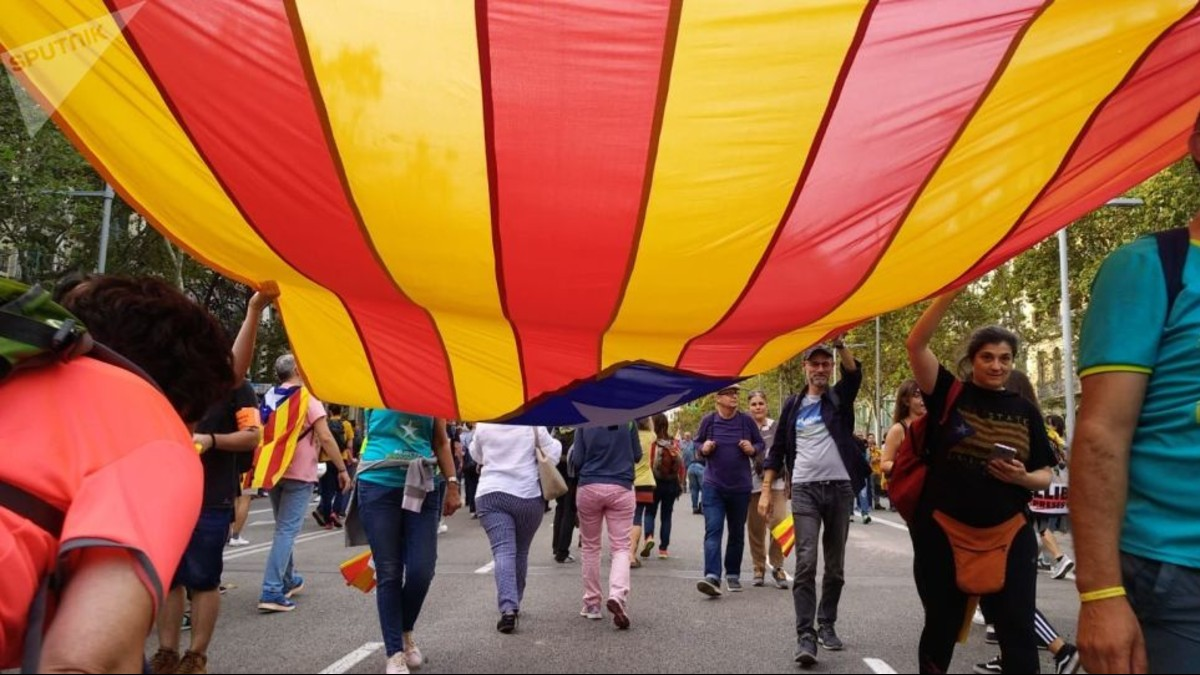 De forma pacífica concluye semana de protestas en Cataluña