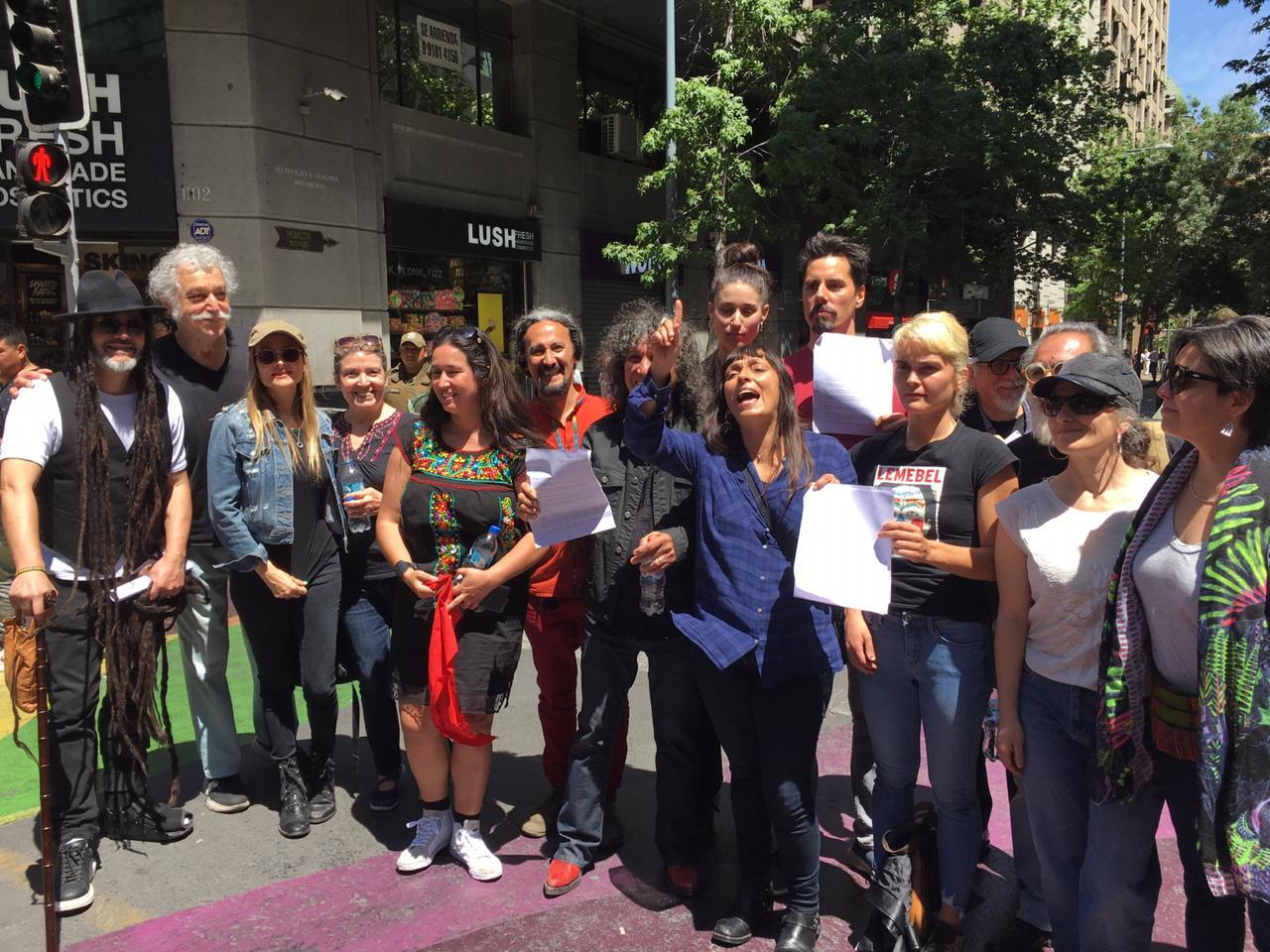 Esta es la carta de las y los músicos chilenos a Piñera para detener la crisis en nuestro país