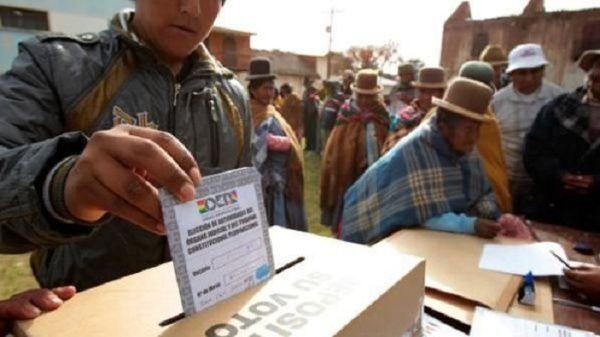 Árbitro comicial boliviano: Hemos abierto nuestras puertas a las misiones electorales