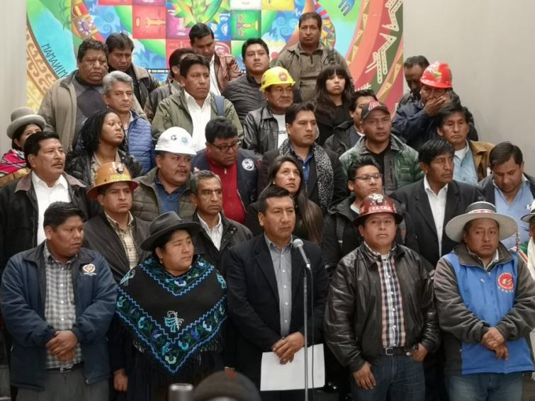Sector campesino marchará este miércoles en Bolivia