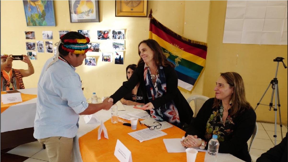 Movimiento indígena y CIDH se reúnen en Ecuador para registrar violaciones a los derechos humanos