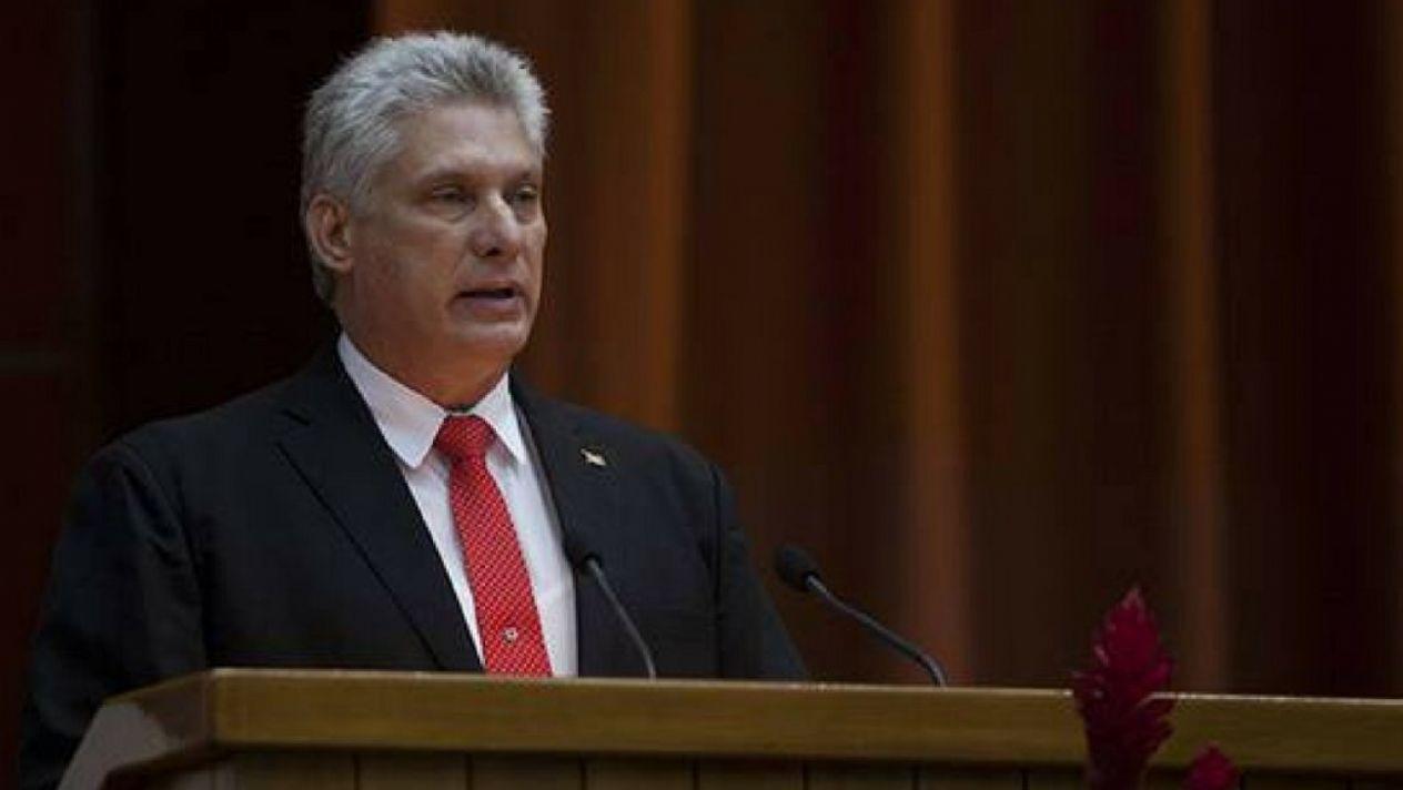 Presidente de Cuba condena manipulación mediática contra el país