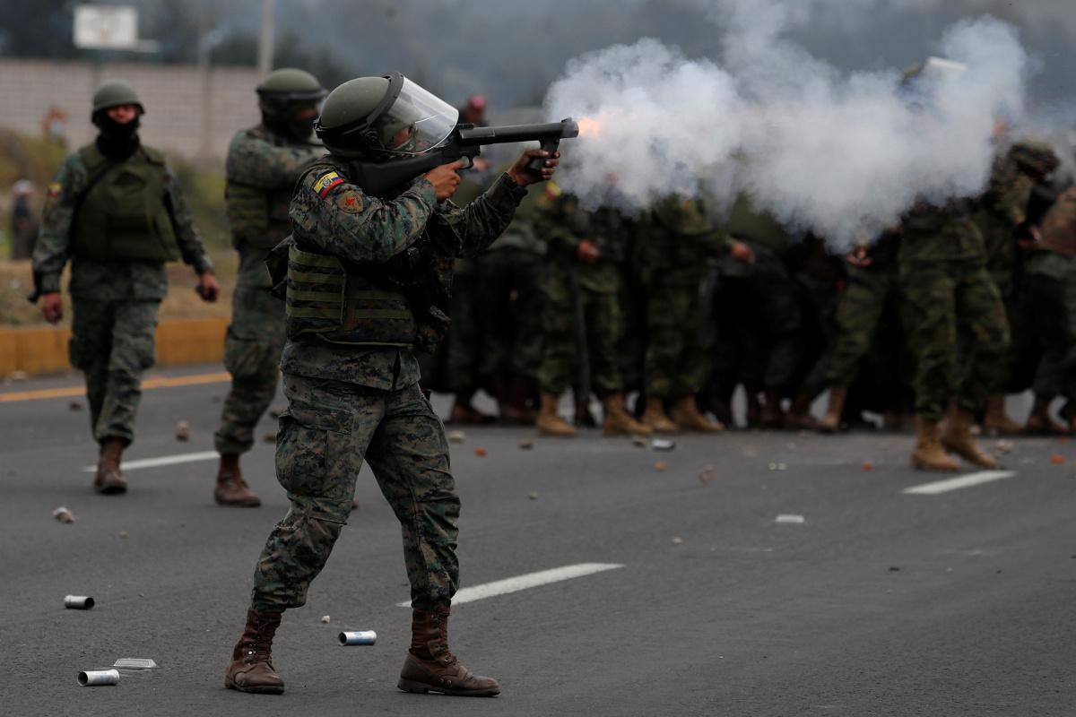Ecuador: dos muertos y centenares de detenidos tras largas jornadas de protesta