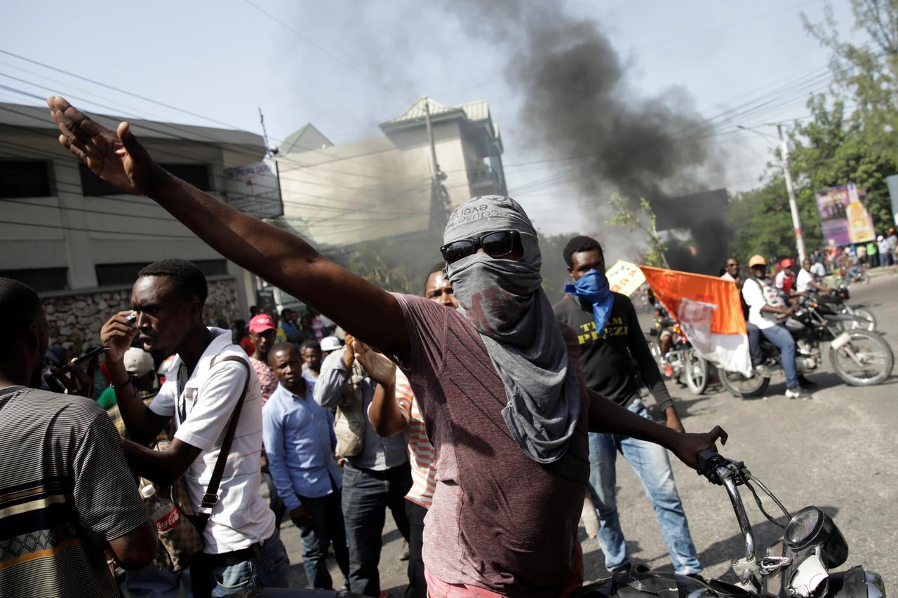 Masivas protestas en Haití, el país fuera de control que los medios eligen ignorar