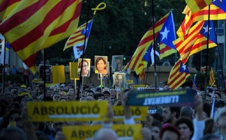 Se filtró la sentencia: Condenarán a los líderes independentistas de Cataluña por sedición
