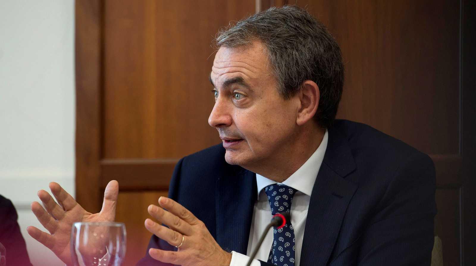 Zapatero: «Si hoy dejamos que esto pase en Bolivia, puede pasar en todos los sitios»