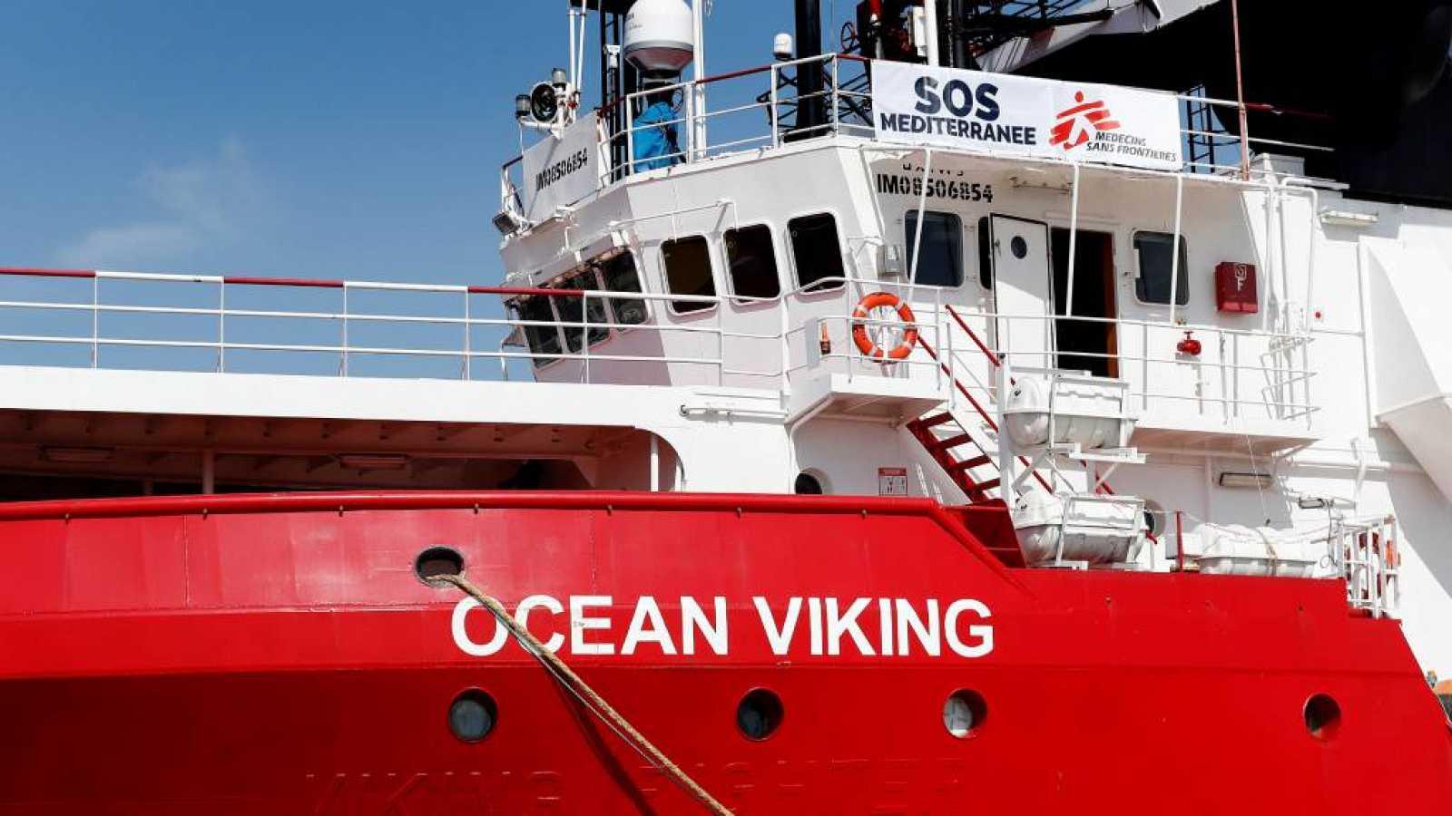 Ocean Viking rescata más de 90 migrantes en el Mediterráneo