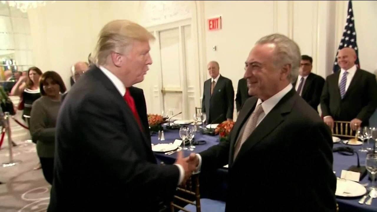 Temer confiesa que Trump consultó en 2017 con Gobiernos de Brasil, Colombia y Panamá cómo intervenir Venezuela