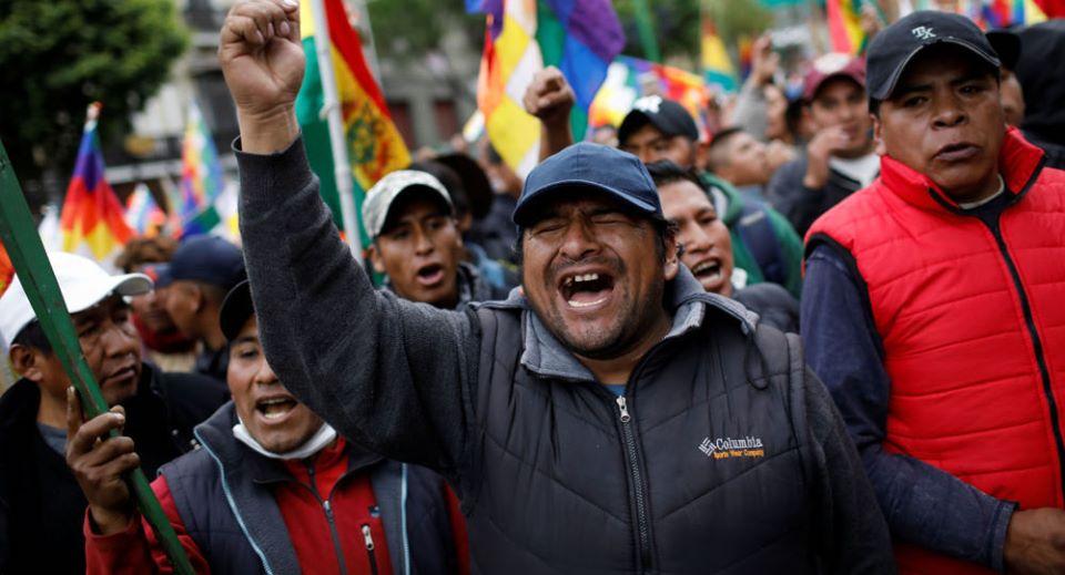 Colectivo de apoyo al pueblo boliviano solicita ayuda al Gobierno francés