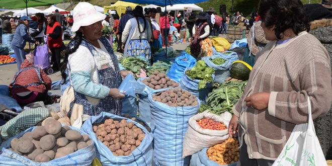 Bolivia extrema esfuerzos para garantizar abastecimiento de  alimentos
