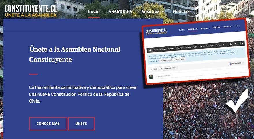 Chile : Nace herramienta participativa para la elaboración de una Nueva Constitución por medio de Asamblea Constituyente