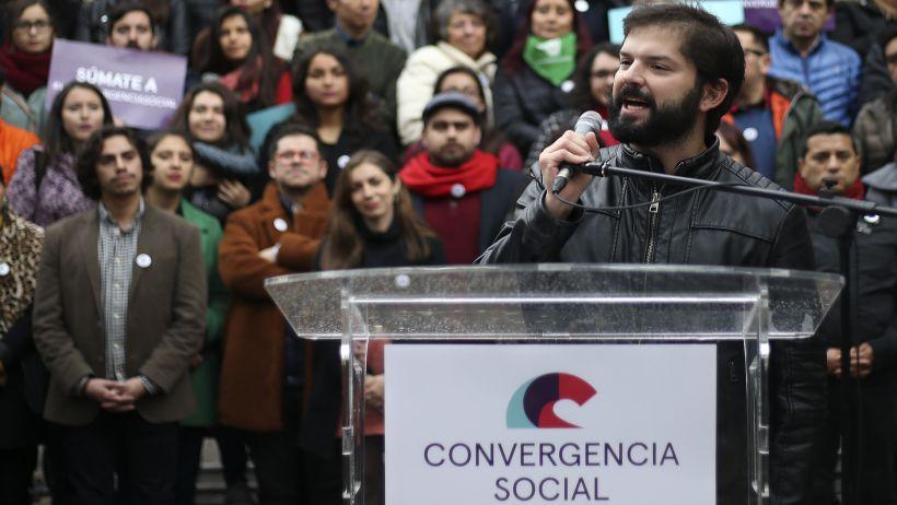 Boric no llegaría a primarias: Presidenta de Convergencia Social no descarta levantar otra candidatura