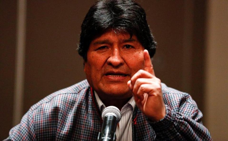 Evo Morales denuncia detención de líderes políticos y sociales en Bolivia