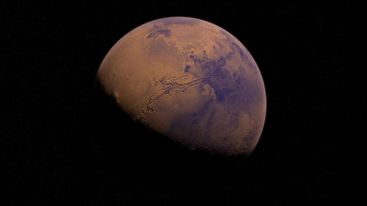(Foto y video) Nave espacial Mars Express descubre erosión a gran escala en Marte
