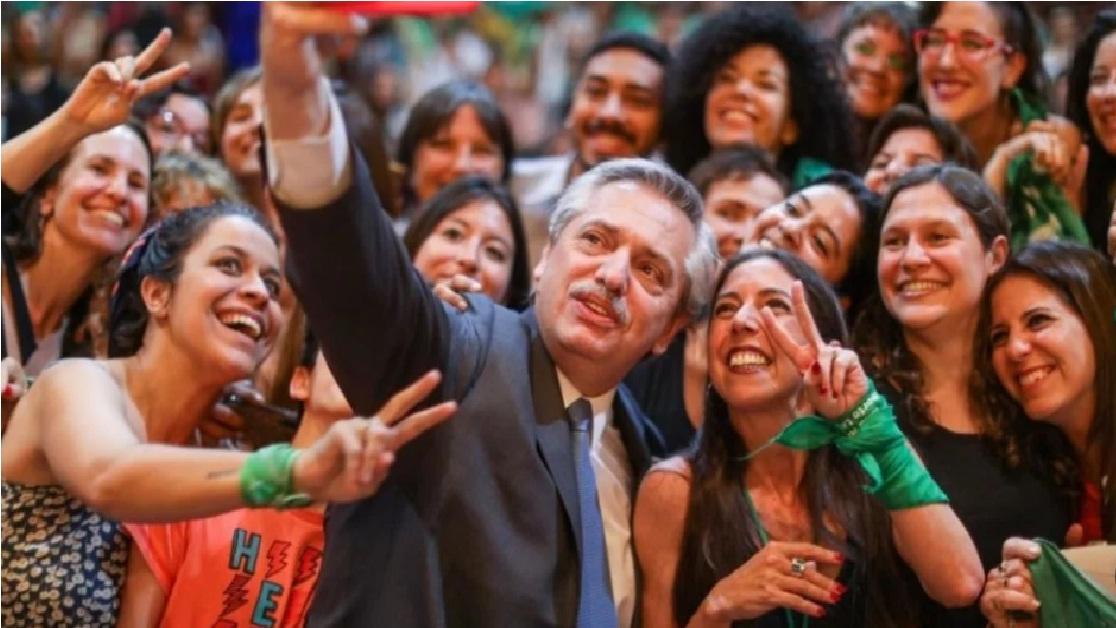 Alberto Fernández dispuesto a promover la legalización del aborto en Argentina