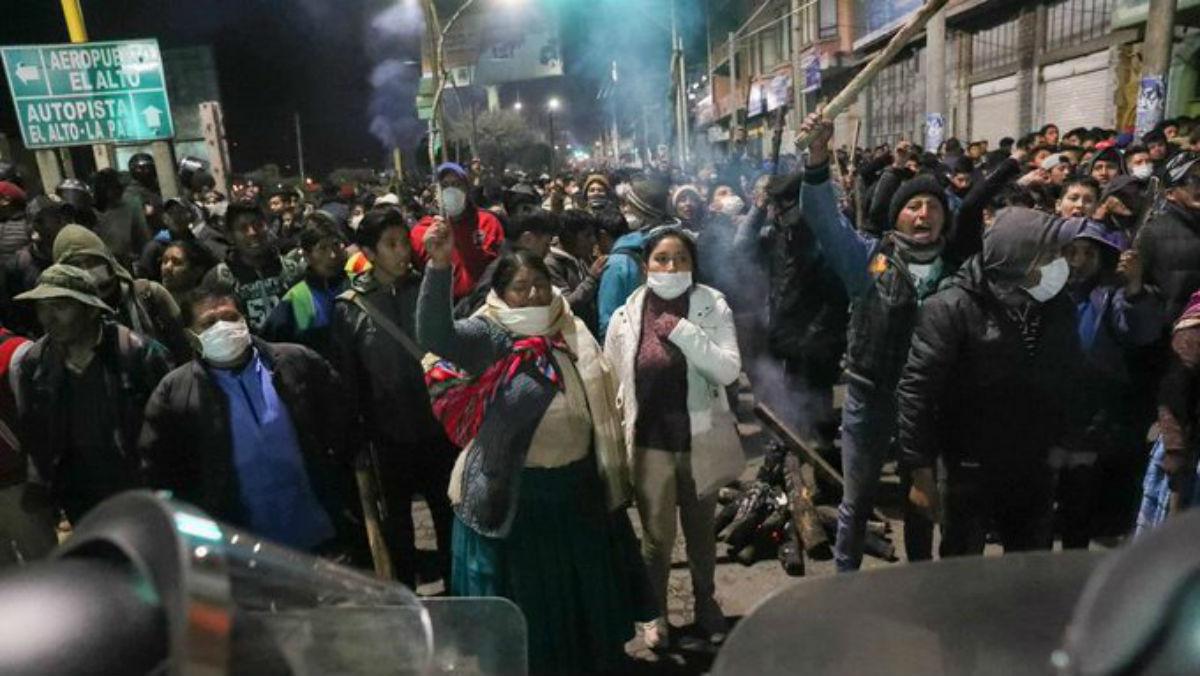 Morales denuncia violaciones de DD.HH. y la  CIDH llega a Bolivia para investigar